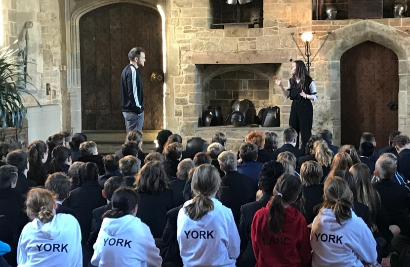 Royal Shakespeare Company performs for children