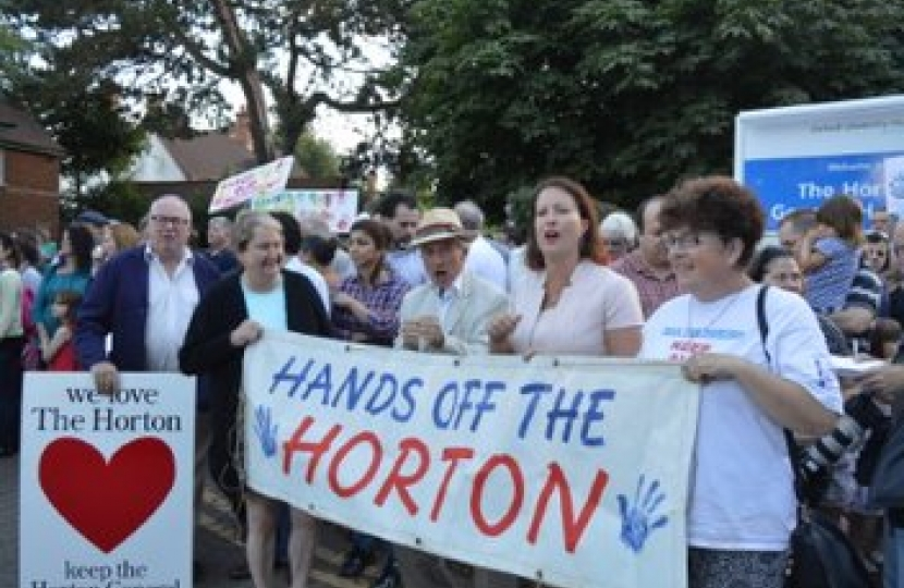Hands off the Horton