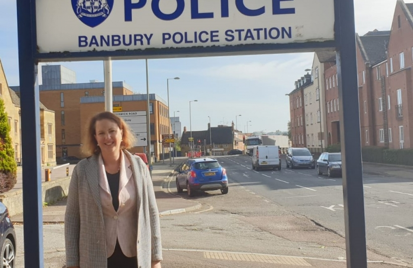 Victoria at Banbury Police Station