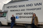 Victoria with Heyford Man and Van