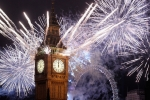 New Year Fireworks Big Ben